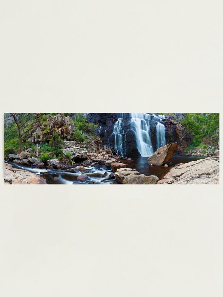 Alternate view of MacKenzie Falls, Grampians, Australia Photographic Print