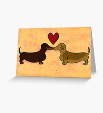 You're My Puppy Love Greeting Card