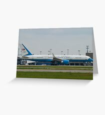 90003 Air Force Two Boeing VC-32A 757-2G4 Take Off Greeting Card