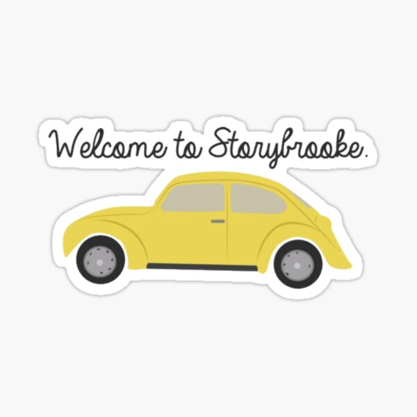 Welcome to Storybrooke - Once Upon A Time Sticker