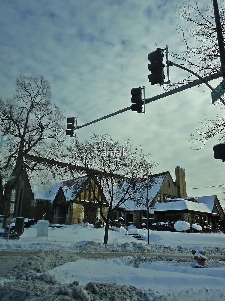 Winter Time Scene by amak