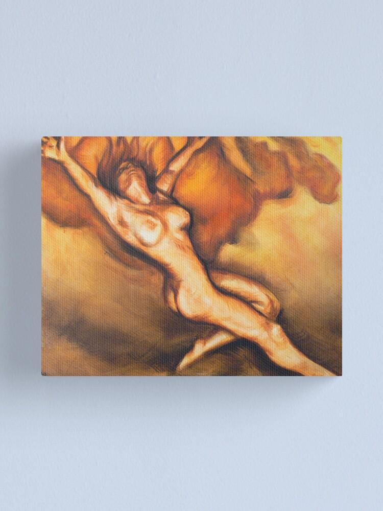 Alternate view of Descent  Canvas Print