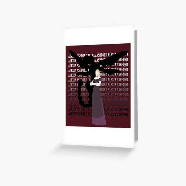 Alexia Ashford Resident Evil Code Veronica X Greeting Card