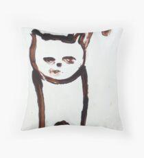 Scat, Cat! 6 Throw Pillow