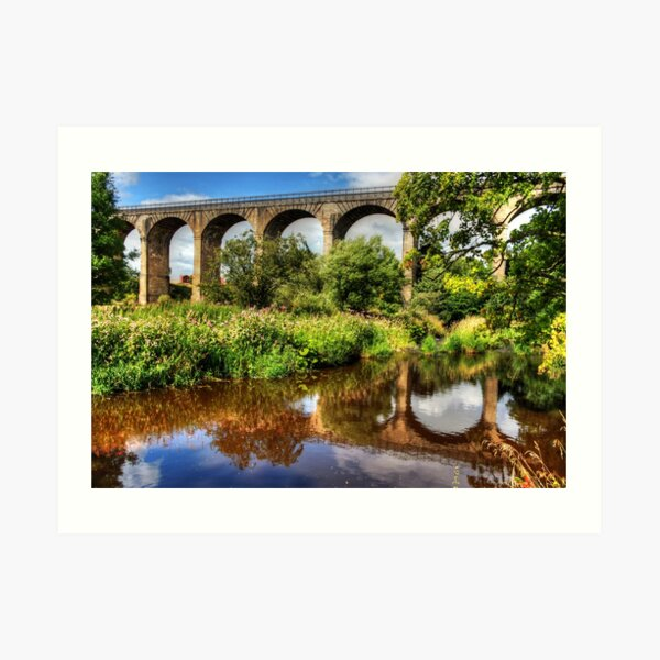 Avon Viaduct Reflections Art Print