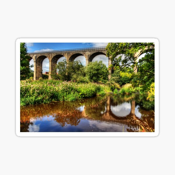 Avon Viaduct Reflections Sticker
