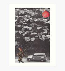 'In the tree' Art Print