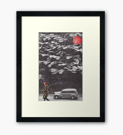 'In the tree' Framed Print