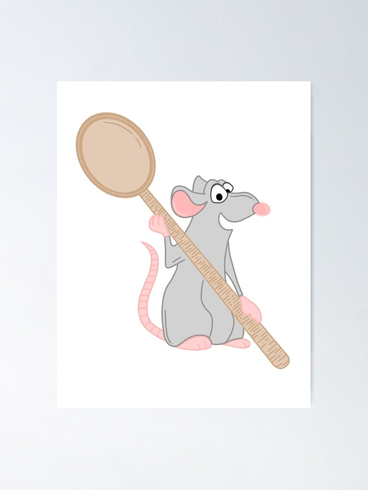 Remy Ratatouille Sticker Poster By Annielinnart Redbubble