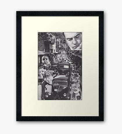 'Bad boy' Framed Print