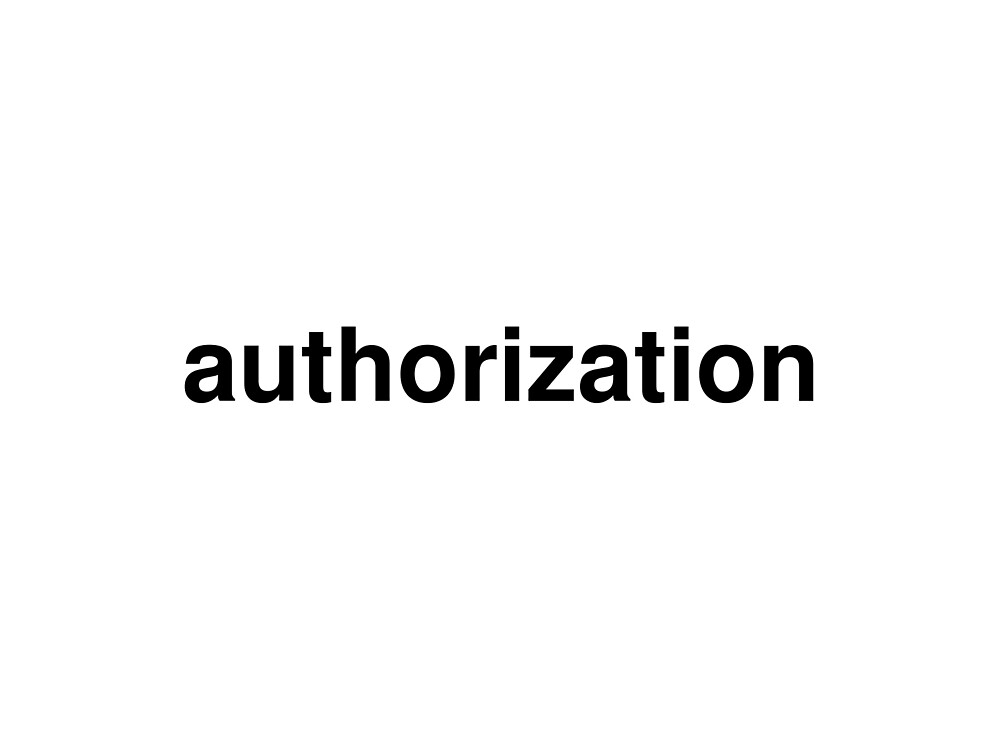 authorization by ninov94