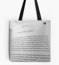 Jane Eyre - Chapter 23 Tote Bag