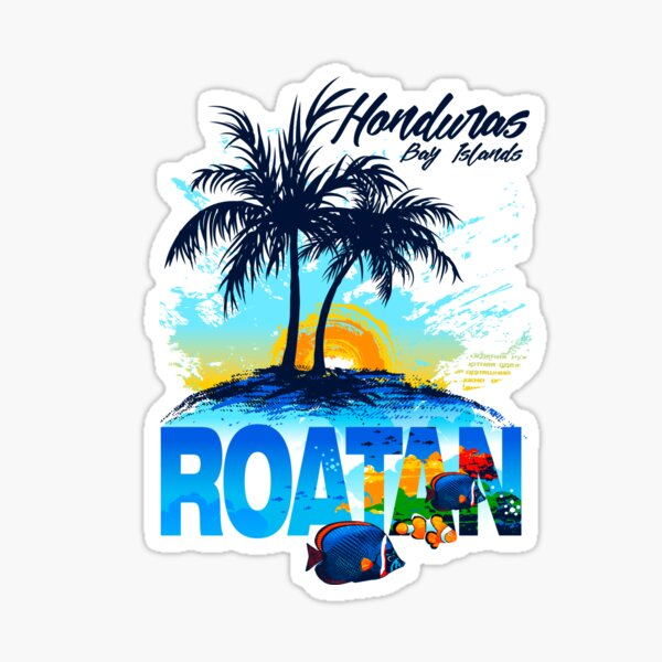 Honduras Roatan Bay Islands Sticker