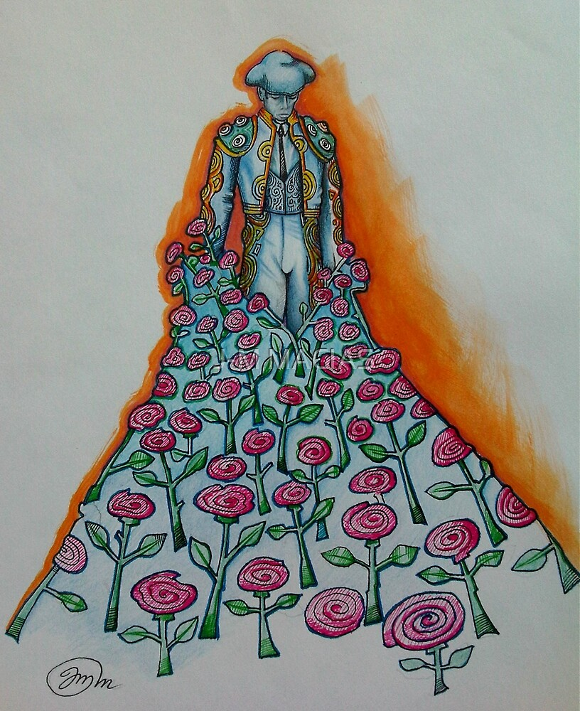 BED OF ROSES  by J-M MACIAS