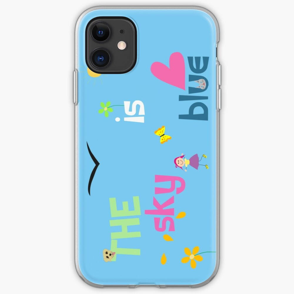 The Sky Is Blue iPhone Case & Cover