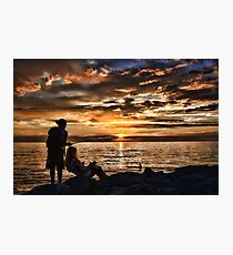Those Summer Nights Photographic Print