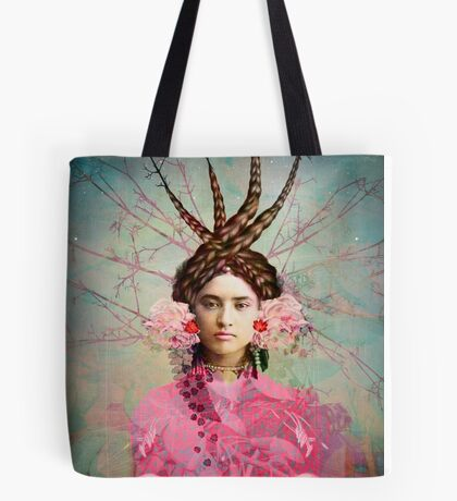 Portrait in Pastell Tote Bag