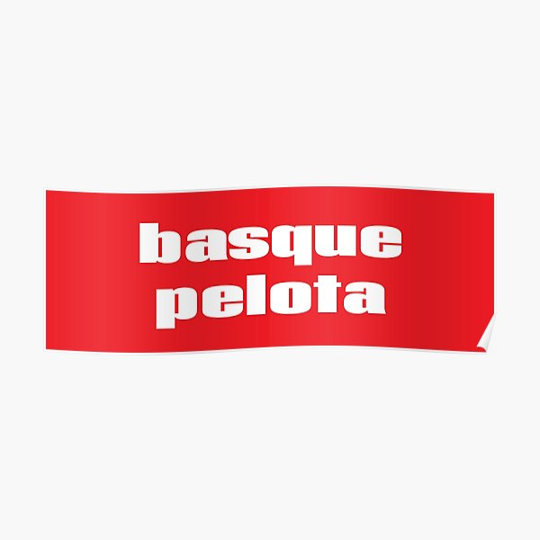 Pelote basque Pilota Pelota Vasca Pelote Basque Poster