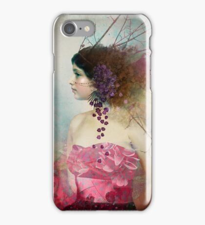Portrait in Pastell 2 iPhone Case/Skin