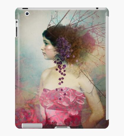 Portrait in Pastell 2 iPad Case/Skin
