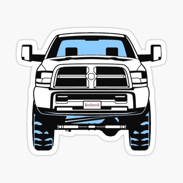 Lifted Truck Sticker  Sticker