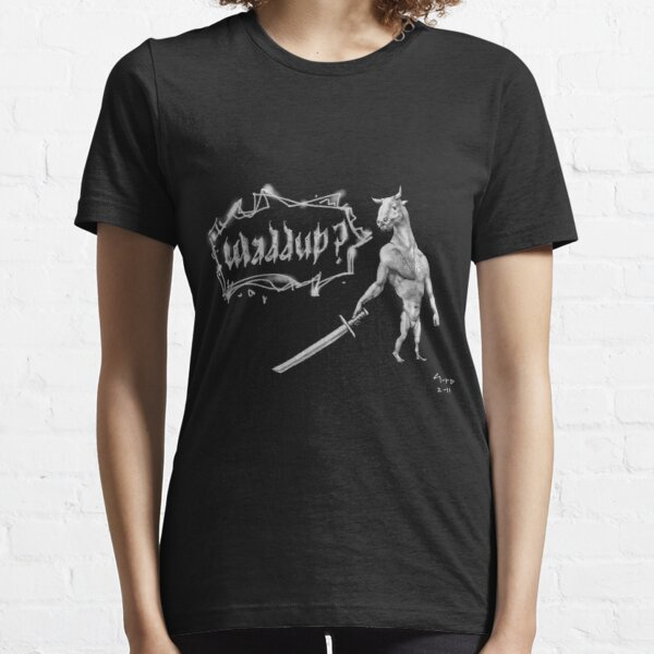 'waddup?' Navaro samurai concept fantasy creature Essential T-Shirt