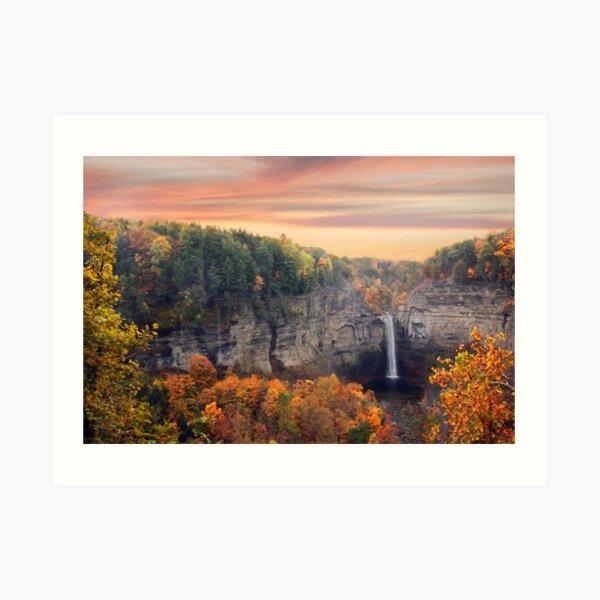Taughannock Sunset Art Print