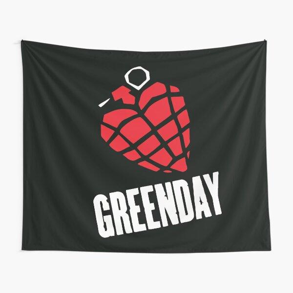 Greenday Heart Granade Tapestry
