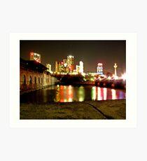 Niagara's Nights Art Print