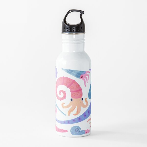 Ancient cephalopods Water Bottle