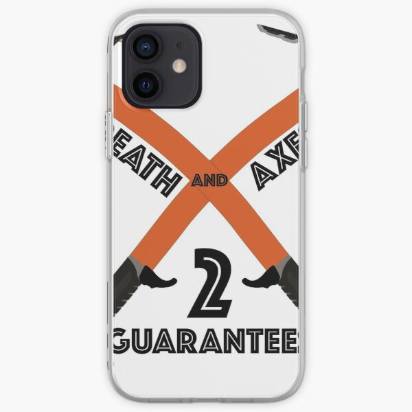 Ice Climbing Axes - Two guarantees in life - Death and Axes iPhone Soft Case