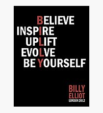 Billy Elliot The Musical Live Logo  Photographic Print