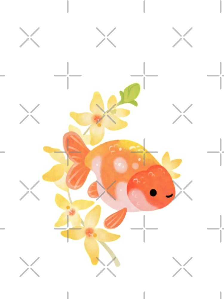 Ranchu and Forsythias 2 by pikaole