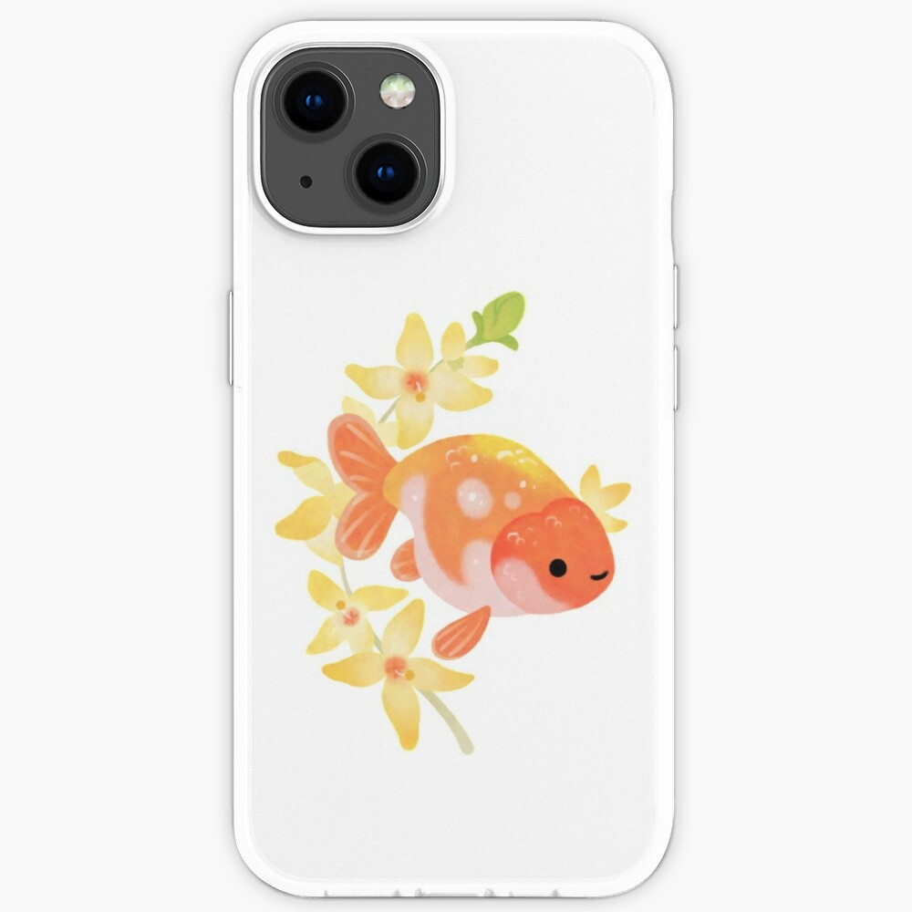 Ranchu and Forsythias 2 iPhone Case
