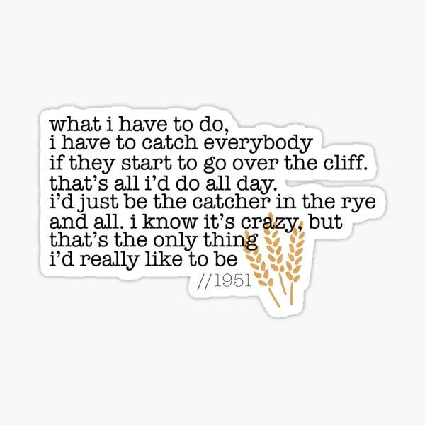Catcher in the Rye Sticker