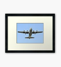 C-130 Hercules Belly Shot Framed Print