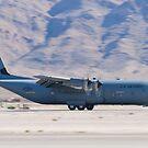 RS AF 07 8614 C-130J Super Hercules Landing  by Henry Plumley