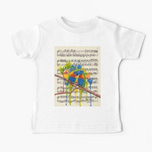 Rainbow Lorikeets Baby T-Shirt