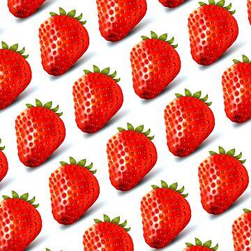 Juicy Strawberries by cerio