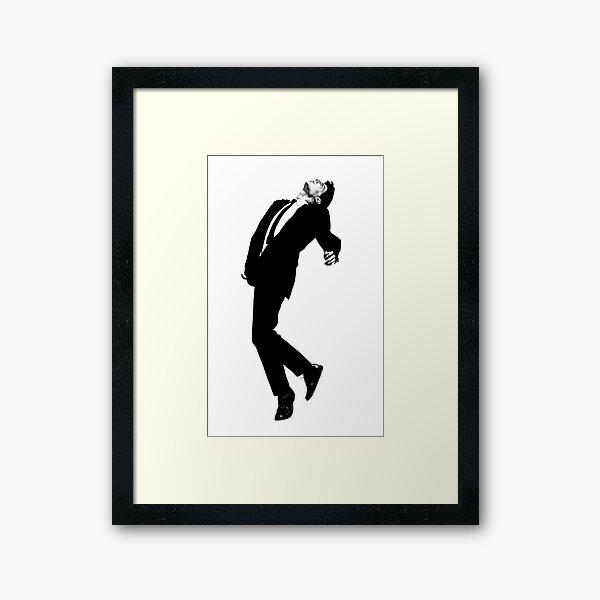 Robert Longo Men in the Cities Framed Art Print