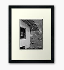 Once Upon A Time In The Desert Framed Print
