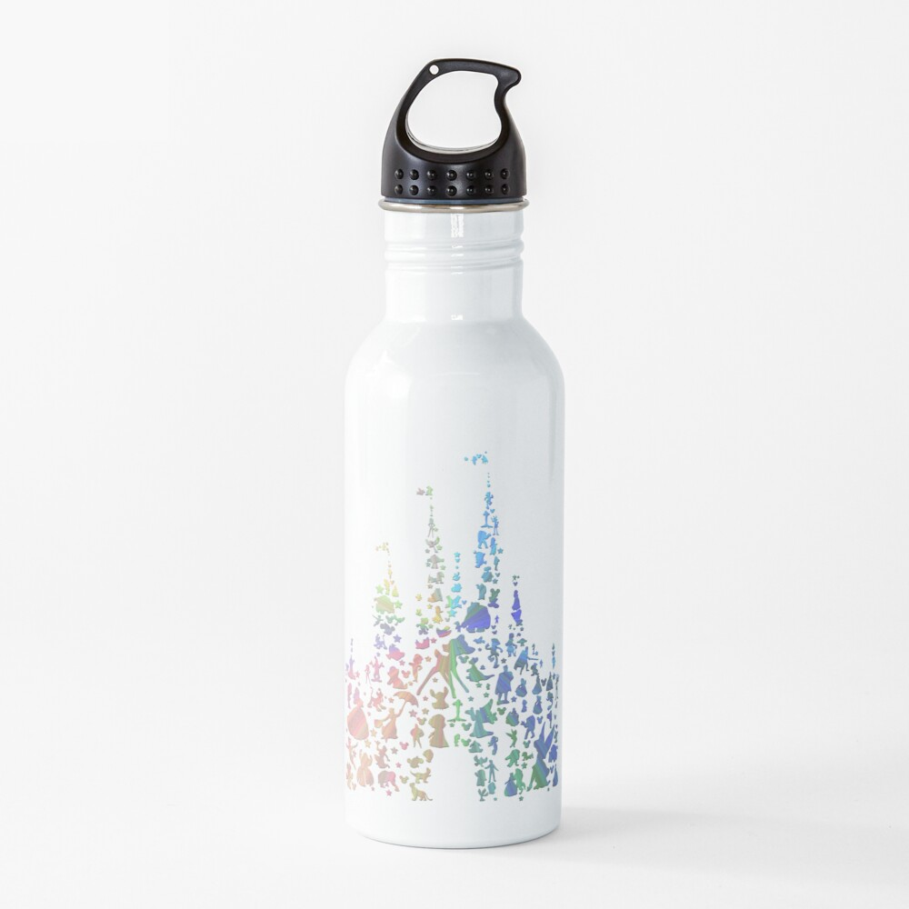 Happiest Castle On Earth (Rainbow Explosion) Water Bottle