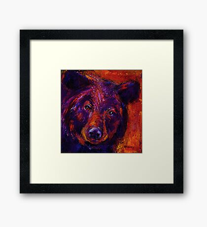 Black Bear People Are Dreamers I Framed Print