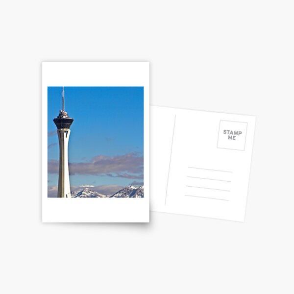 Stratosphere Tower December 2008 Postcard