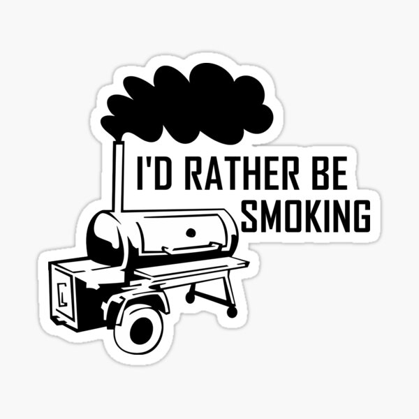 Smoking Meat Stickers Redbubble,Veal Scallopini With Mushrooms
