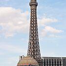 Eiffel Tower Paris Hotel Casino by Henry Plumley