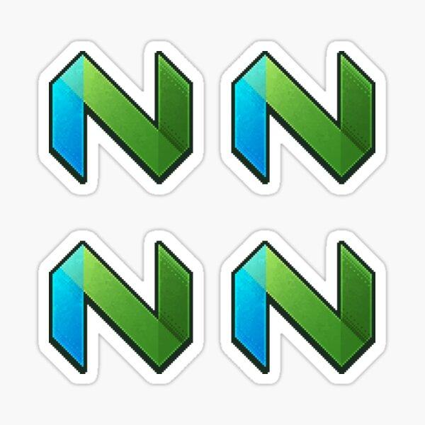 Neovim Pixel Art Sticker