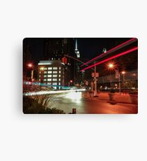 Empire State Lights Canvas Print