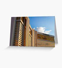 Mirage Las Vegas at Sunset Greeting Card