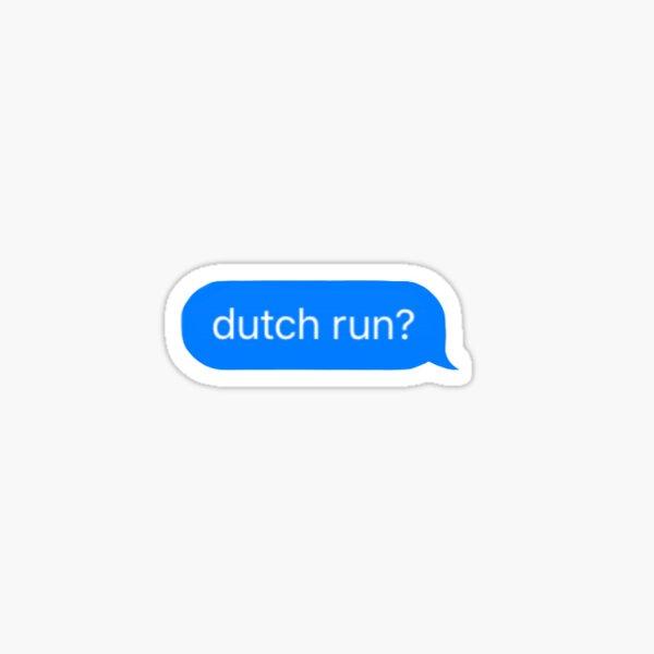 Dutch Run Sticker